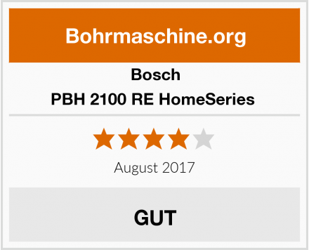 Bosch PBH 2100 RE HomeSeries  Test