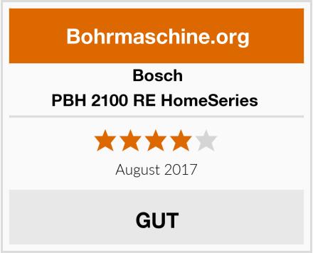Bosch PBH 2100 RE HomeSeries  Test
