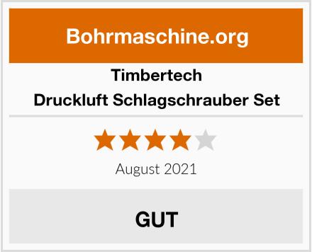 Timbertech Druckluft Schlagschrauber Set Test