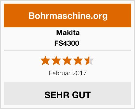 Makita FS4300  Test