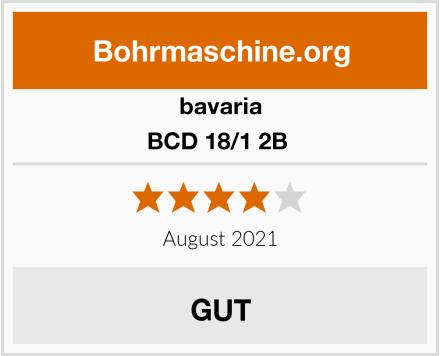 bavaria BCD 18/1 2B  Test