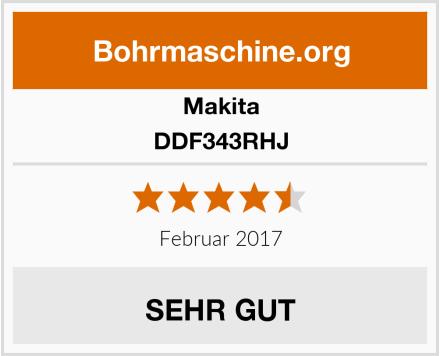 Makita DDF343RHJ Test