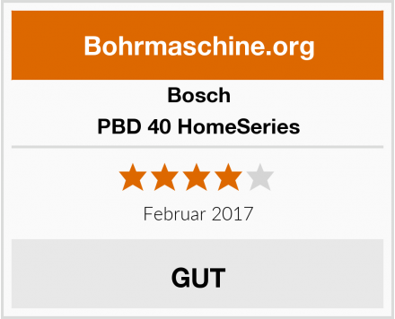 Bosch PBD 40 HomeSeries Test