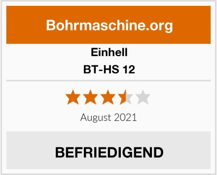 Einhell BT-HS 12 Test