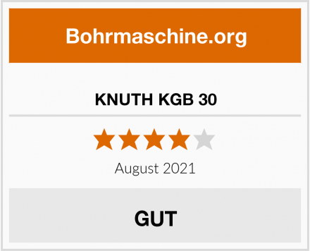 No Name KNUTH KGB 30 Test