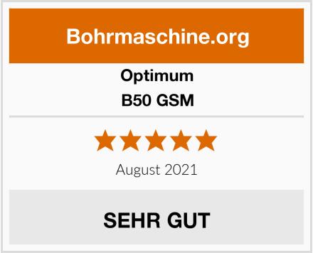 Optimum B50 GSM Test