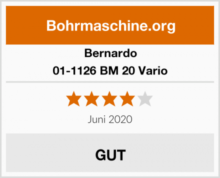 Bernardo 01-1126 BM 20 Vario Test