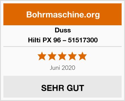 Duss Hilti PX 96 – 51517300 Test