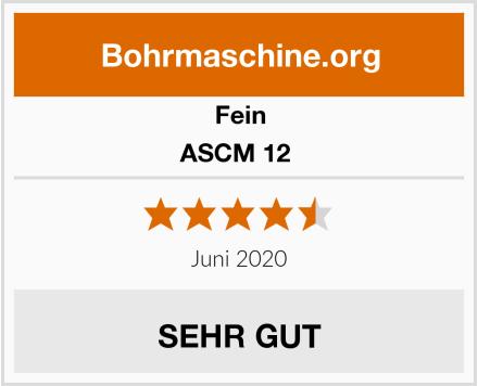 Fein ASCM 12  Test