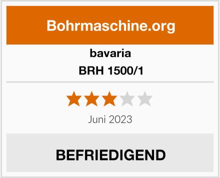 bavaria BRH 1500/1 Test