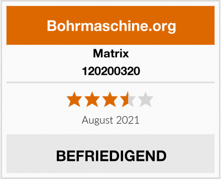 Matrix 120200320 Test