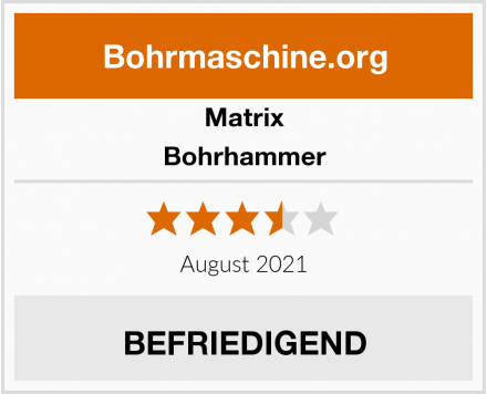 Matrix Bohrhammer Test
