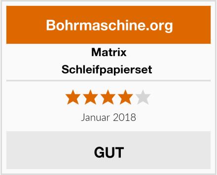 Matrix Schleifpapierset  Test