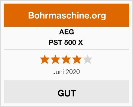 AEG PST 500 X  Test