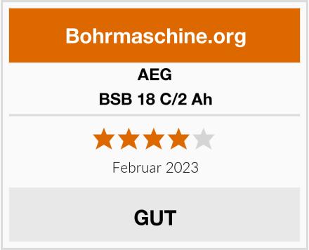 AEG BSB 18 C/2 Ah Test