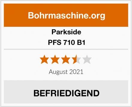 Parkside PFS 710 B1 Test