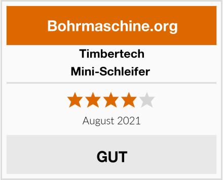 Timbertech Mini-Schleifer  Test