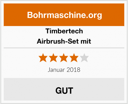 Timbertech Airbrush-Set mit Test
