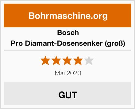 Bosch Pro Diamant-Dosensenker (groß) Test