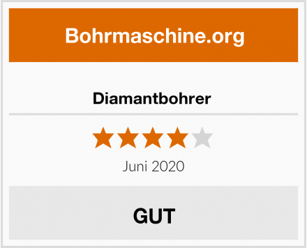 No Name Diamantbohrer  Test