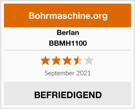 Berlan BBMH1100 Test
