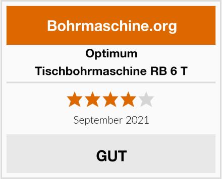 Optimum Tischbohrmaschine RB 6 T Test