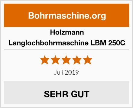 Holzmann Langlochbohrmaschine LBM 250C Test
