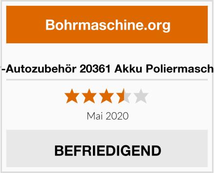 No Name HP-Autozubehör 20361 Akku Poliermaschine Test