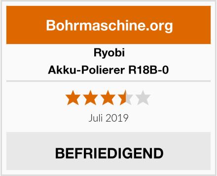 Ryobi Akku-Polierer R18B-0 Test