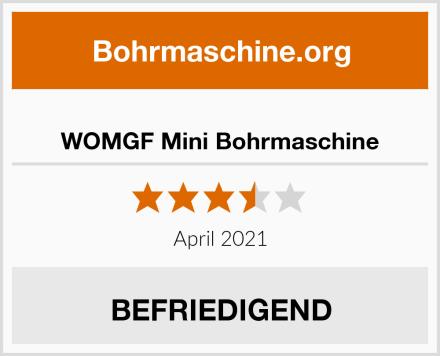 WOMGF Mini Bohrmaschine Test