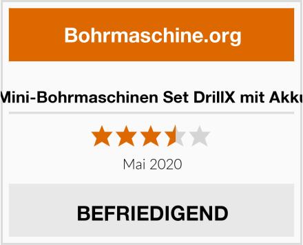 Mini-Bohrmaschinen Set DrillX mit Akku Test