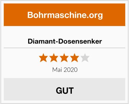 Diamant-Dosensenker Test