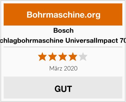 Bosch Schlagbohrmaschine UniversalImpact 700 Test