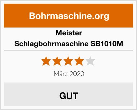 Meister Schlagbohrmaschine SB1010M Test