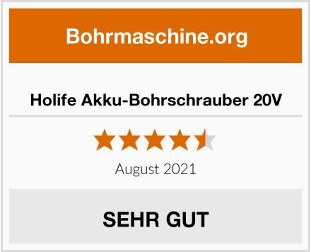 Holife Akku-Bohrschrauber 20V Test