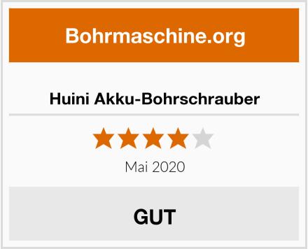Huini Akku-Bohrschrauber Test