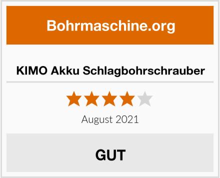 KIMO Akku Schlagbohrschrauber Test