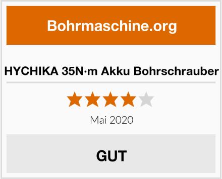 HYCHIKA 35N·m Akku Bohrschrauber Test