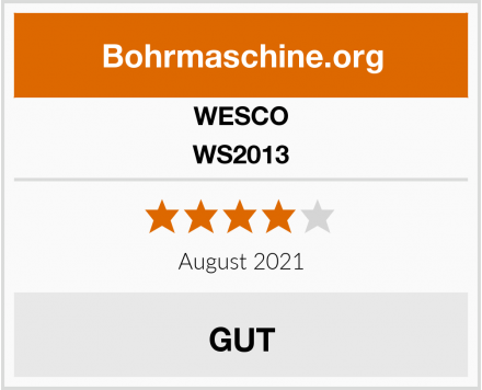 WESCO WS2013 Test