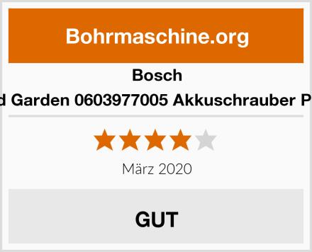 Bosch Home and Garden 0603977005 Akkuschrauber PSR Select Test