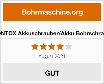 V VONTOX Akkuschrauber/Akku Bohrschrauber Test