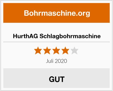 HurthAG Schlagbohrmaschine Test
