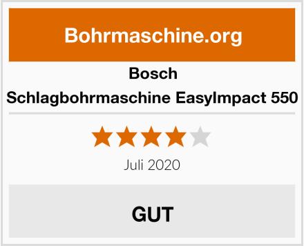 Bosch Schlagbohrmaschine EasyImpact 550 Test
