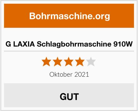 G LAXIA Schlagbohrmaschine 910W Test