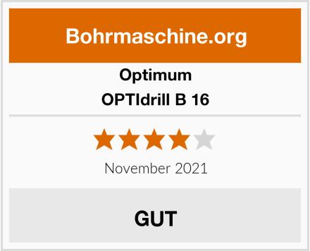 Optimum OPTIdrill B 16 Test