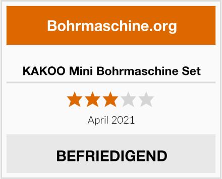 KAKOO Mini Bohrmaschine Set Test