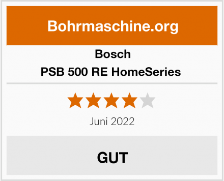 Bosch PSB 500 RE HomeSeries  Test