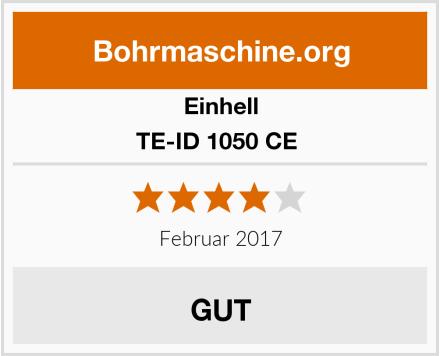 Einhell TE-ID 1050 CE  Test