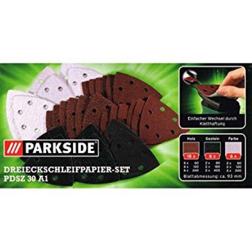 Parkside Dreieckschleifpapier