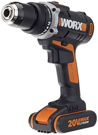 Worx LI-Ion Akku-Bohrschrauber 20 V
